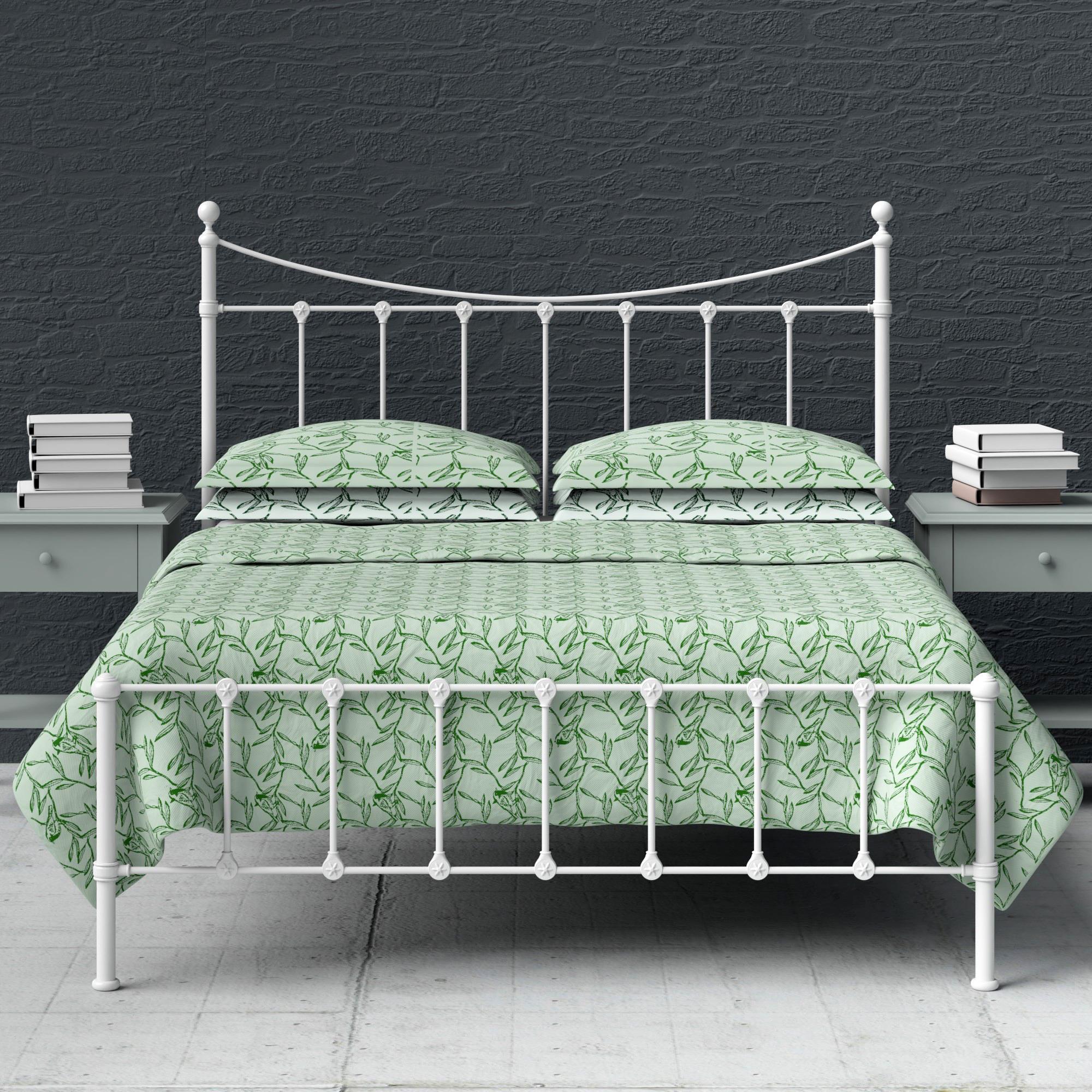 Olivia iron bed