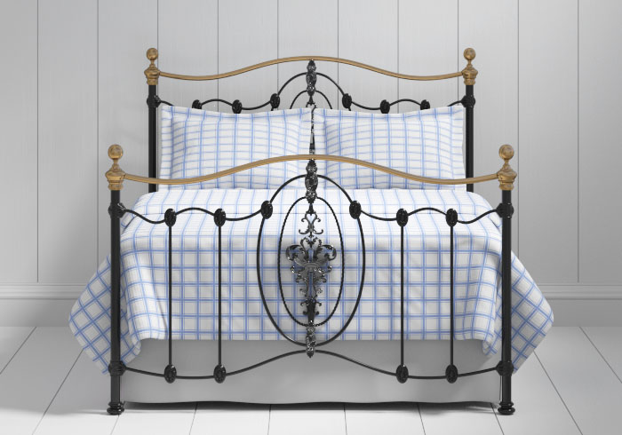 Ardmore iron bed in black