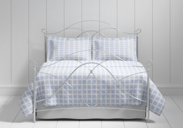 Ardo iron bed in silver