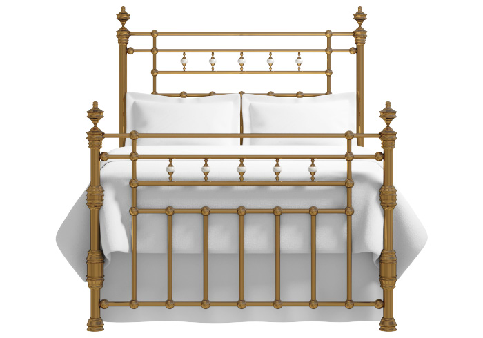 Boyne brass bed