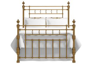 Boyne bed in a brass finish
