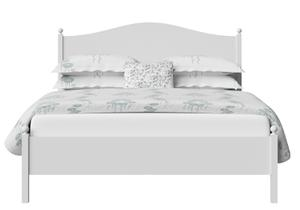 Brady Wood Bed in White