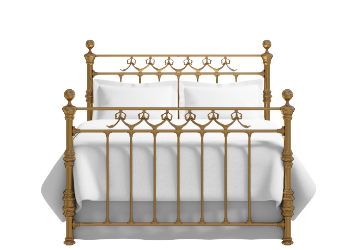Cutout of the Braemore brass bed