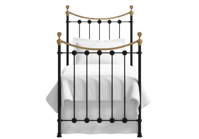 Carrick single iron bed