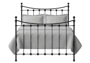 Carrick Solo Iron/Metal Bed in Satin Black