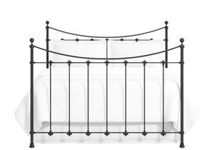 Chatsworth iron bed in satin black