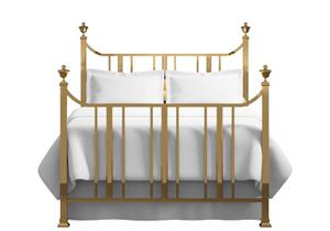 Clifton bed in a brass finish