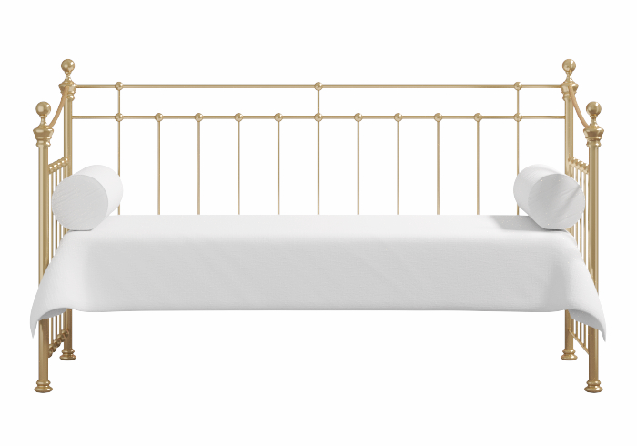 Emly brass daybed