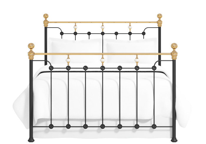 Cutout of the Glenholm iron bed