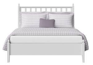 Hank Wood Bed in White