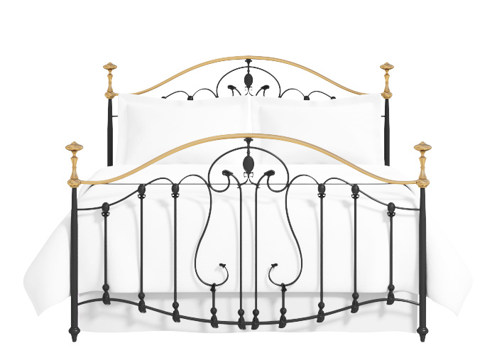Cutout of the Lauriston iron bed