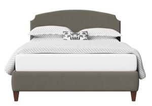 Lide Upholstered Bed in Grey fabric