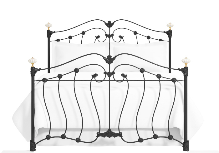 Cutout of the Lisburn iron bed