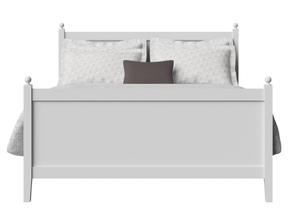 Marbella Wood Bed in White