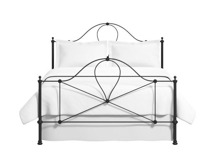 Cutout of the Marseille iron bed