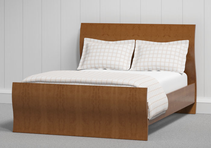 Opus wood bed in cherry