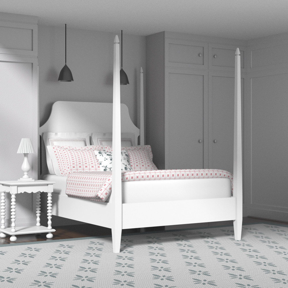 Four poster beds the original bedstead company for Four poster headboards