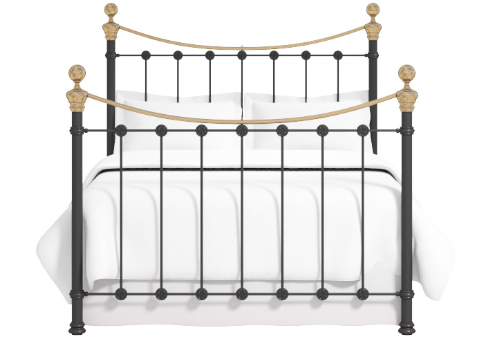Cutout of the Selkirk iron bed