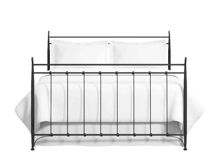 Tiffany iron bed in black