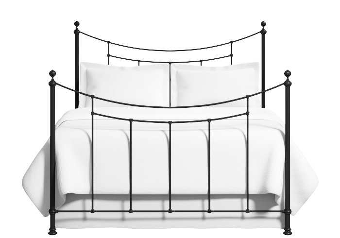 Winchester iron bed in satin black