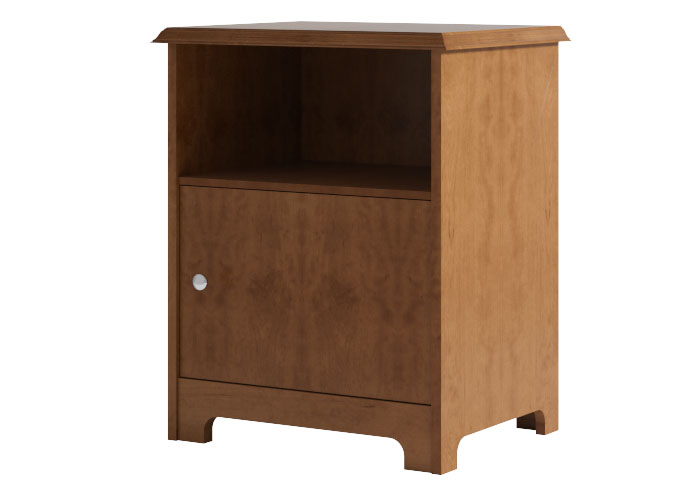Wood bedside tables the original bedstead company for Brighton kitchen cabinets