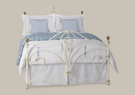 Melrose Iron Bed with Brass Bedstead from Original Bedstead Company - Euro Site.