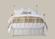 Tulsk Iron Bed with Brass Bedstead from Original Bedstead Company - Belgium.