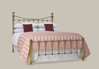 Arran Low FootEnd Bed in Brass Bedstead from Original Bedstead Company - Euro Site.