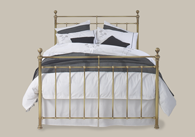 Blyth Brass Bedstead from Original Bedstead Company - UK.