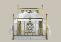 Campbelton Brass Bedstead from Original Bedstead Company - UK.