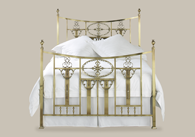 Lochranza Brass Bedstead from Original Bedstead Company - UK.