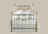 Mandallay Brass Bedstead from Original Bedstead Company - UK.