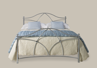 Bansha Chrome Bedstead from Original Bedstead Company - UK.
