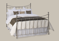 Kendal Nickel Bedstead from Original Bedstead Company - UK.