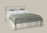 Tain Chrome Bedstead from Original Bedstead Company - Belgium.