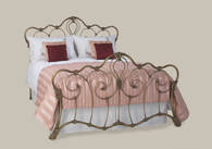 Athalone iron bed from Original Bedstead Company - New Zealand.