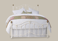 Clarina Low Foot End Bedstead from Original Bedstead Company - Belgium.