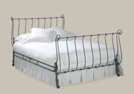 Iona iron bed from Original Bedstead Company - New Zealand.