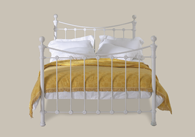 Selkirk Solo Iron Bed with brass - New Zealand.