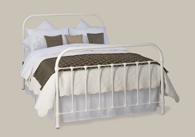 Timolin Iron Bedstead from Original Bedstead Company - Euro Site.