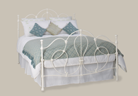 Cara Metal Bedstead from Original Bedstead Company - UK.