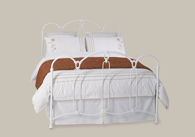 Windsor Iron Bedstead from Original Bedstead Company - Euro Site.