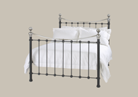 Selkirk Chromo iron bed from Original Bedstead Company - New Zealand.