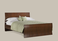 Opus Wooden Bedstead from Original Bedstead Company - Ireland.