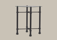 Traditional Bedside Table from Original Bedstead Company - Ireland.