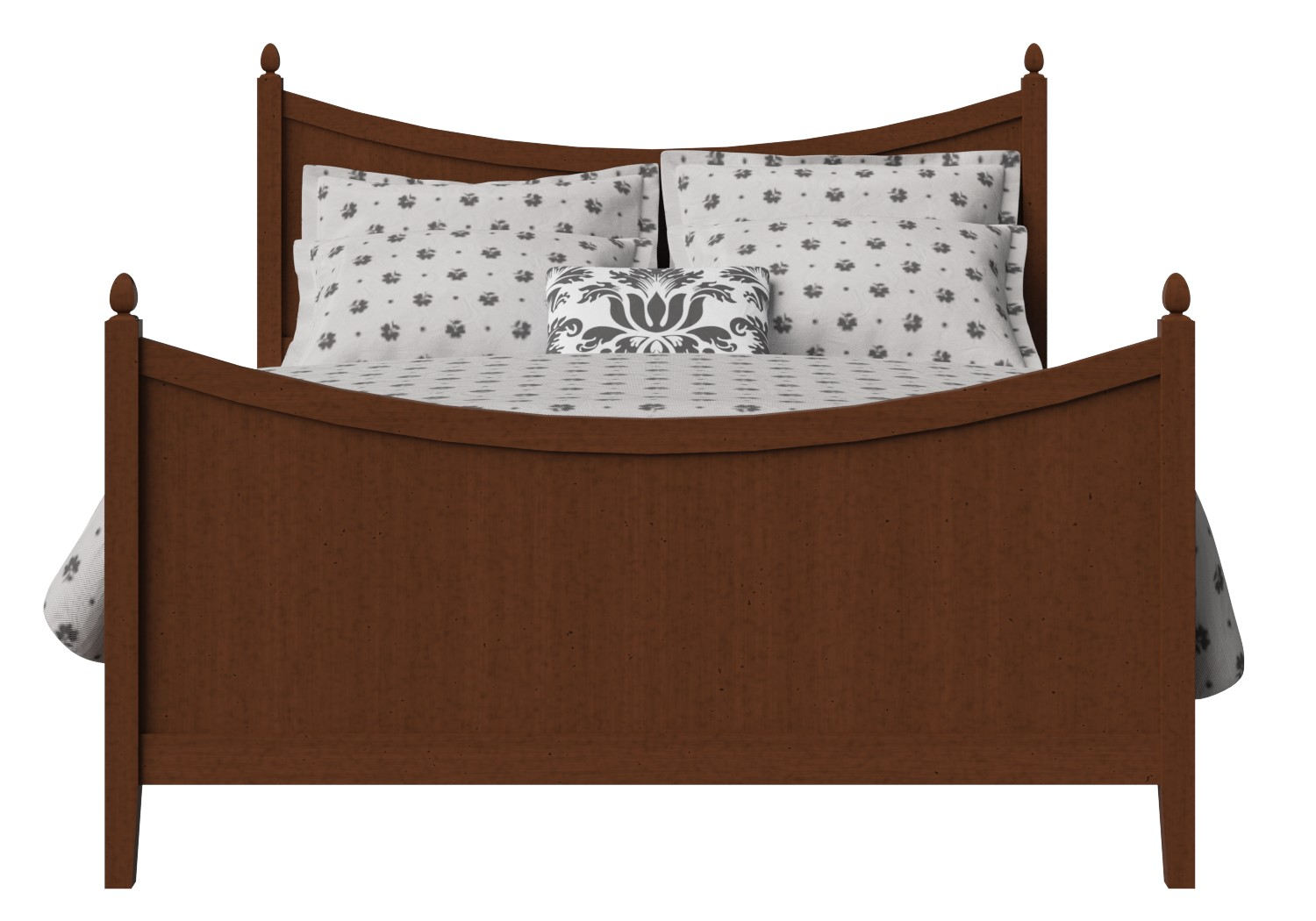 Blake Wood Bed in Dark Cherry