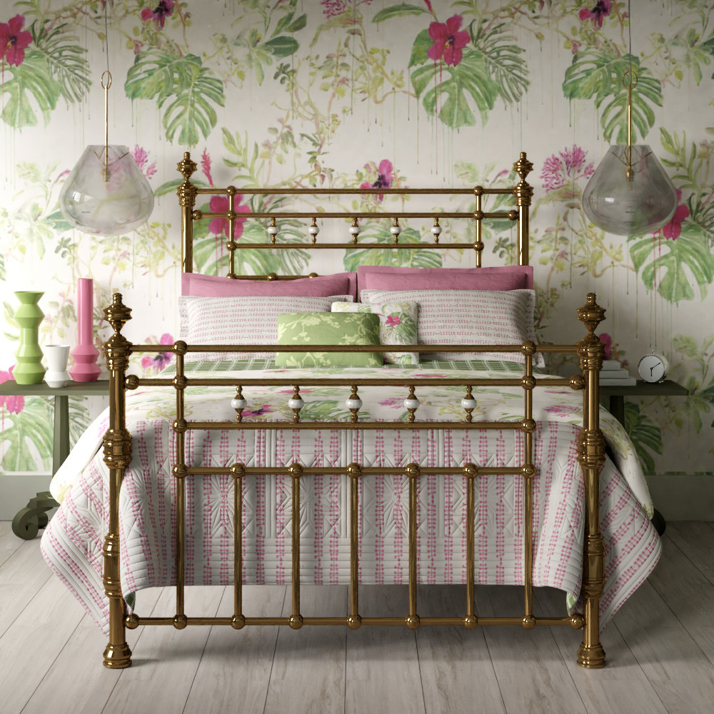 Brass beds & bed frames made from pure brass by The Original Bed Co.