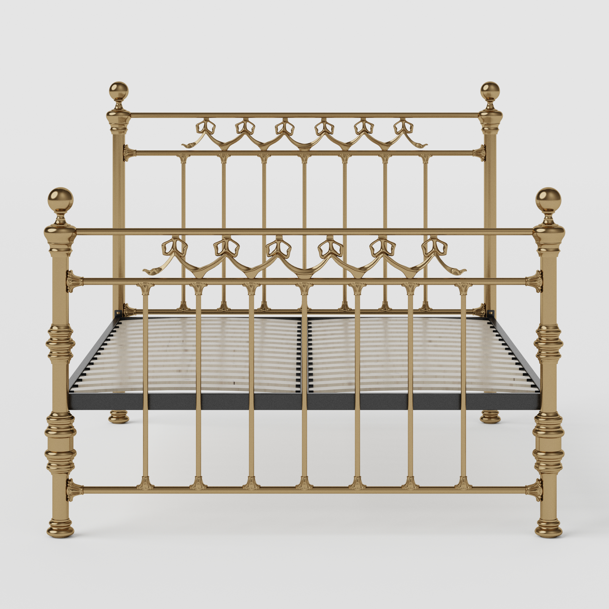 Braemore brass bed