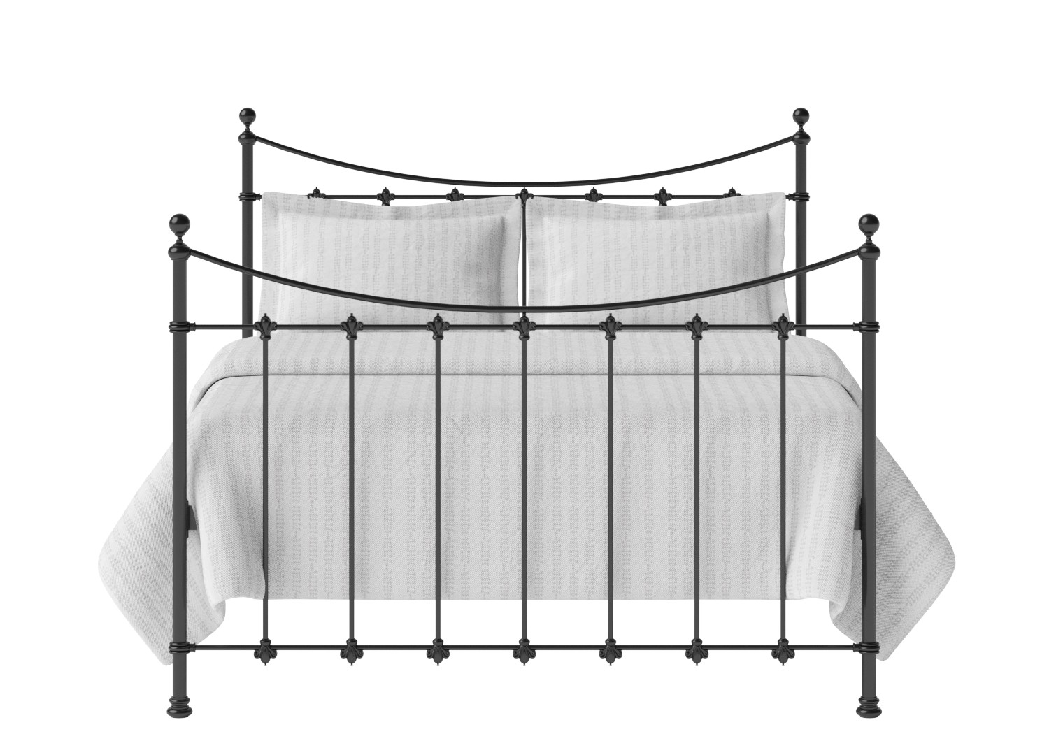 Chatsworth Iron Metal Bed Frame The Original Bed Co Uk