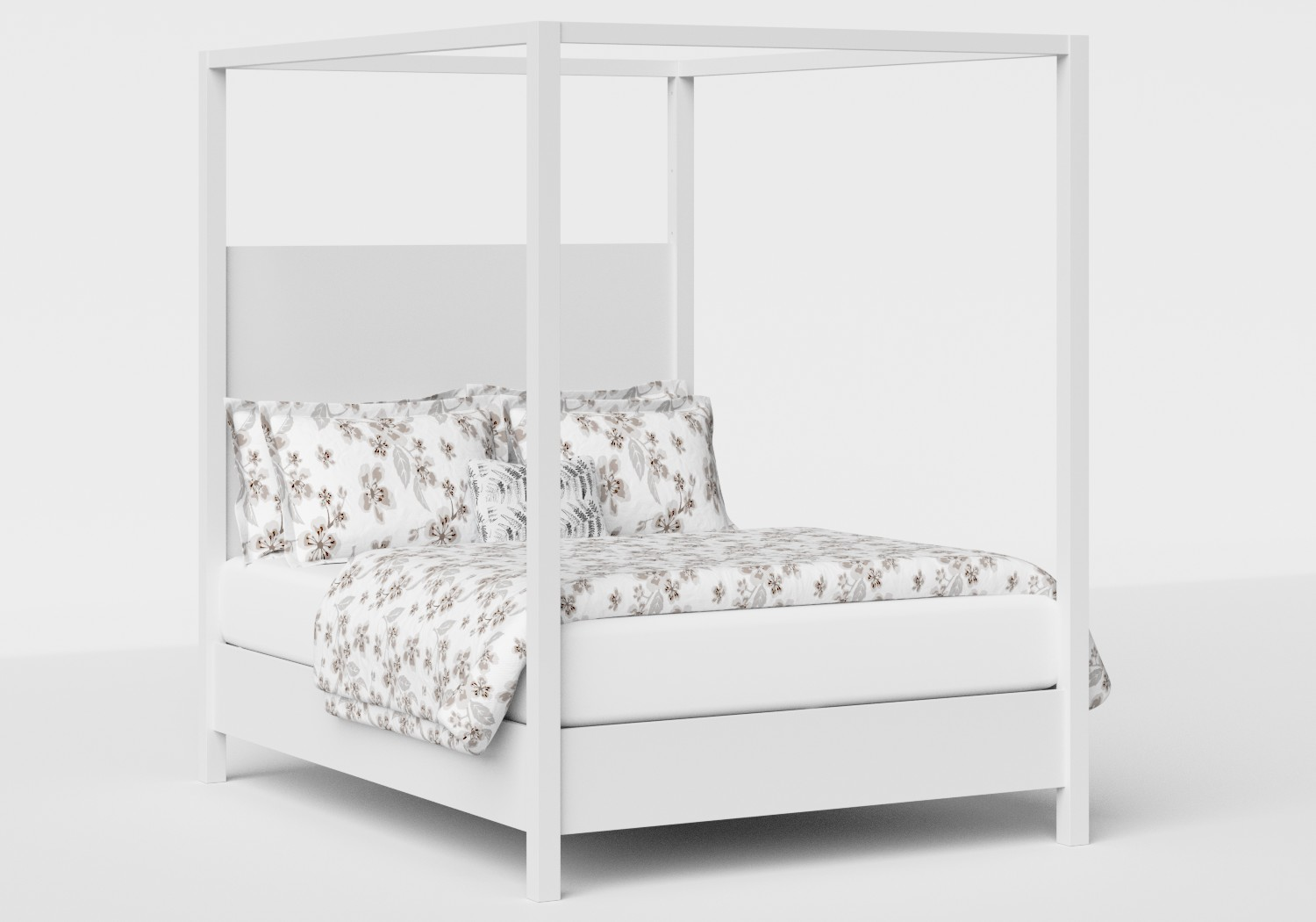 Churchill Wood Bed in White